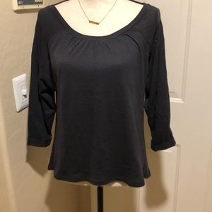 🔥SALE🔥 NWT Zara Dark Gray blouse top